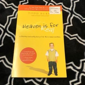 Heaven is for real Book 📖